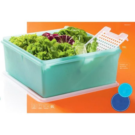 Tupperware Super Caixa 10 litros Verde Mint