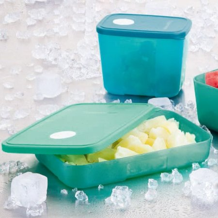 Tupperware Freezertime Turquish 550ml Verde