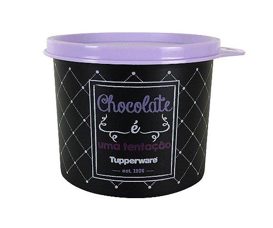 Tupperware Redondinha Chocolate Bistrô 500ml