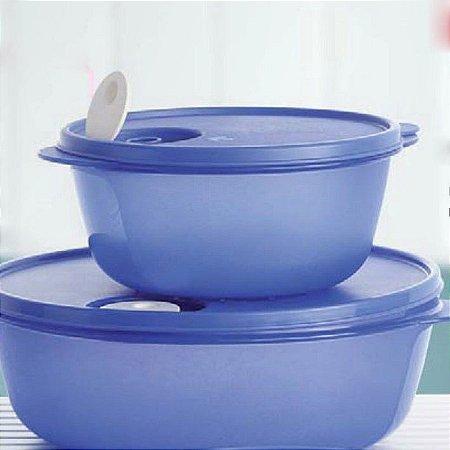 Tupperware Cristalwave 1,5 litros Azul