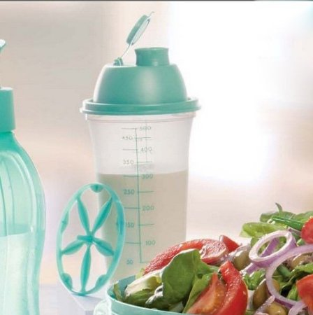 Tupperware Quick Shake 500ml Verde Mint