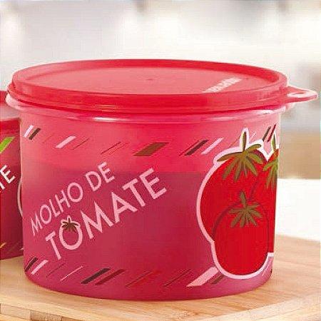 Tupperware Caixa Molho de Tomate 1,1 Litros Vermelho