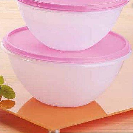 Tupperware Tigela Maravilhosa Tulipas 1,8 litro Rosa