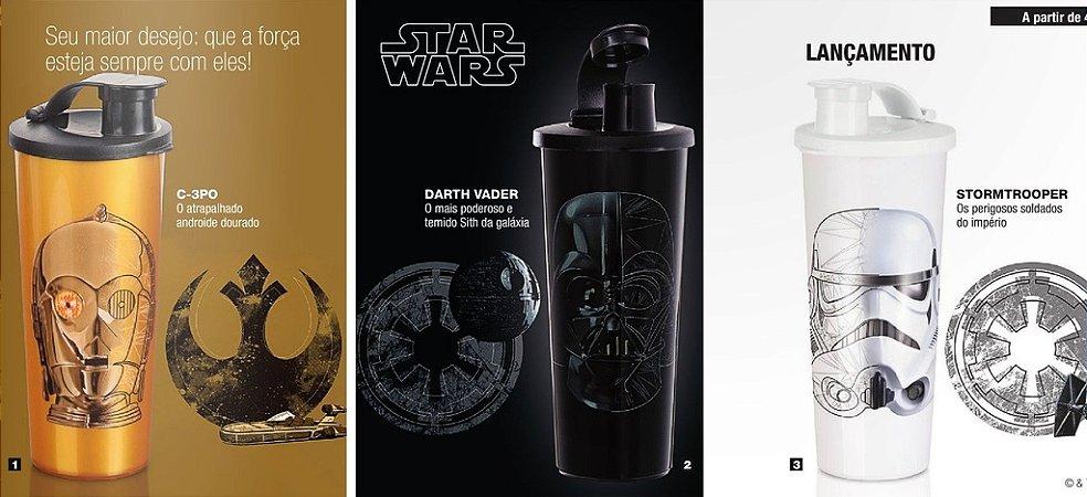 Tupperware Star Wars kit 3 peças