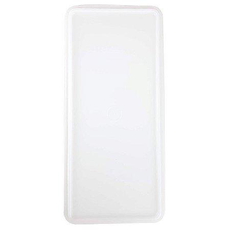 Tampa Mega Caixa 6 litros Branco Translúcido
