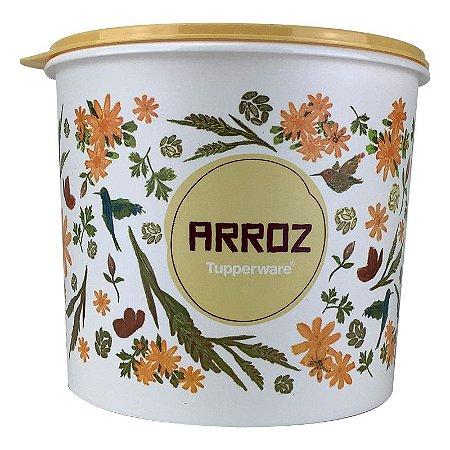 Tupperware Caixa Arroz Floral 5kg Plus
