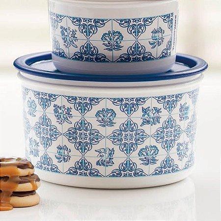 Tupperware Pote Master Colonial 1,5 litros Azul