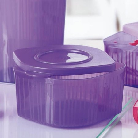 Tupperware Fresh' N Cool Quadrado 470ml Roxo