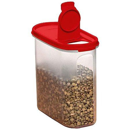 Tupperware Modular Oval Dispenser 3 1,7 Litro Vermelho