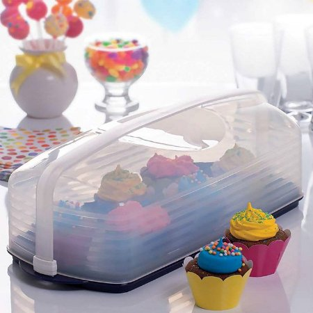 Tupperware Big Cake Retangular Plus