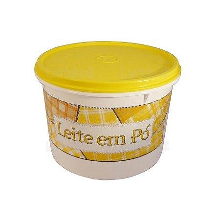 Tupperware Caixa Leite em Pó 1,4 kg Amarela