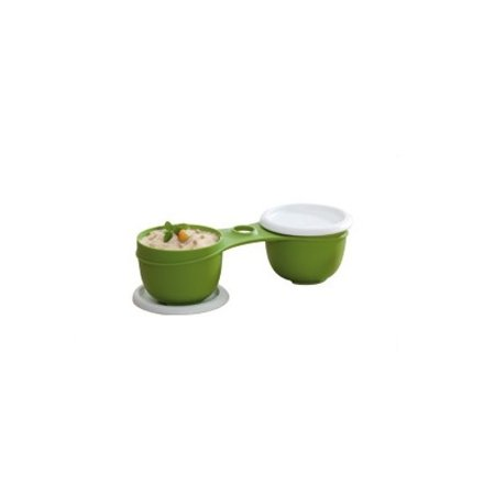 Tupperware Duo Mágico Sem Haste 250ml Verde