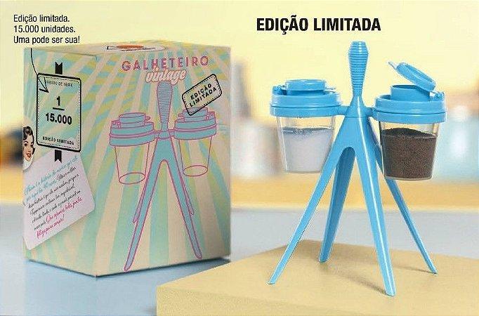 Tupperware Galheteiro Vintage Azul Edição Limitada
