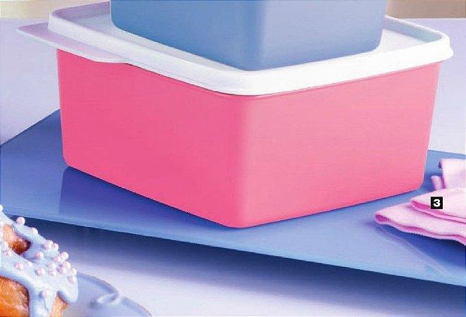 Tupperware Basic Line Rosa Quartzo 1,2 Litro