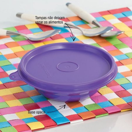 Tupperware Pragela 450ml Roxo