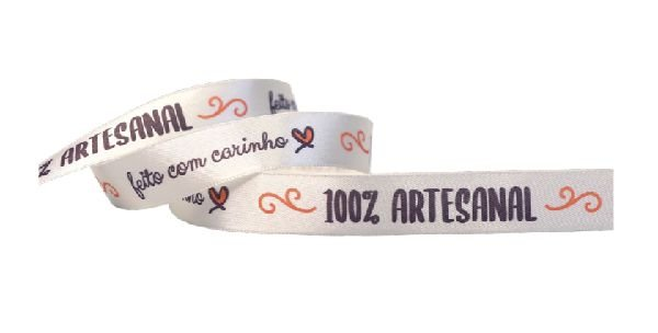 FITA CETIM N° 03 - 15MM X 10 METROS - 100% ARTESANAL C/CARINHO  COR-097