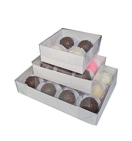60 Caixas brancas KIT  para 4- 6 -12 doces - (20 de cada)