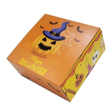 10 Caixas para 4 brigadeiros -halloween  (8,5x8,5x3,5)