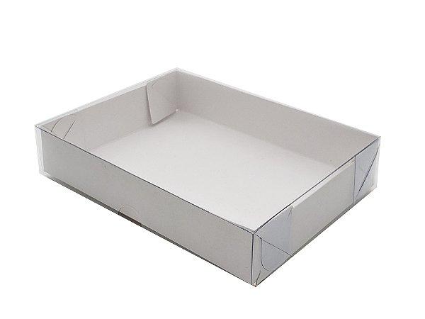 Embalagem branca (17,5X17,5X3) pacote c/ 20 Unidades