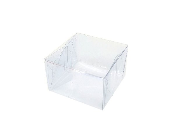 20 Caixas  acetato -transparente (8x8x5) pct c/20 unid.