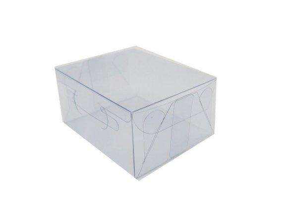 Embalagem de acetato transparente - 8x6,5x4 - pct c/20 Unidades