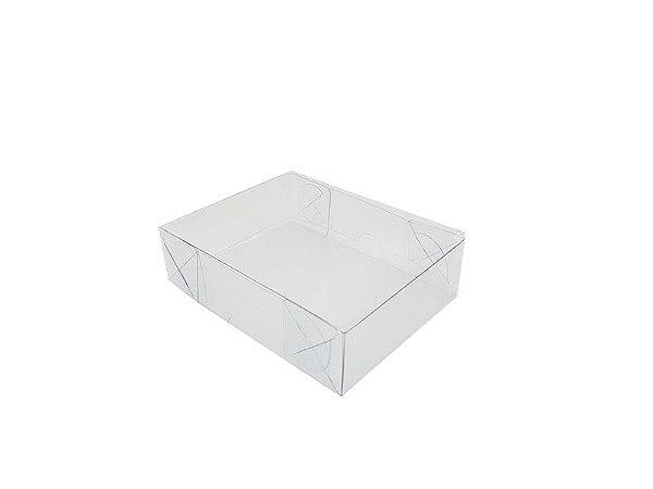 20 Caixas de acetato transparente 13x10x3,5 - pct c/20 Unid.