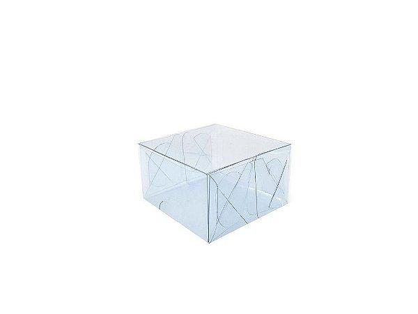 Embalagem de acetato transparente  6x6x3,5 - 20 Unidades