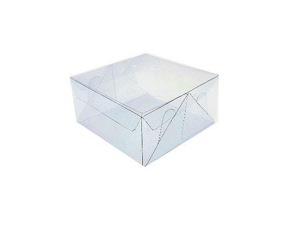 Embalagem de acetato transparente 12x12x6 - 20 Unidades