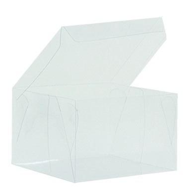 Embalagem de acetato transparente (10x10x7) - 10 Unidades