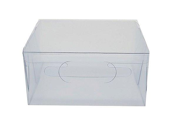Embalagem de acetato transparente  (8 X 6,5 X 4) - 100 Unidades