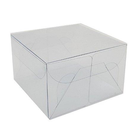 Embalagem de acetato transparente - 7x7x4,2 pct c/20 Unidades