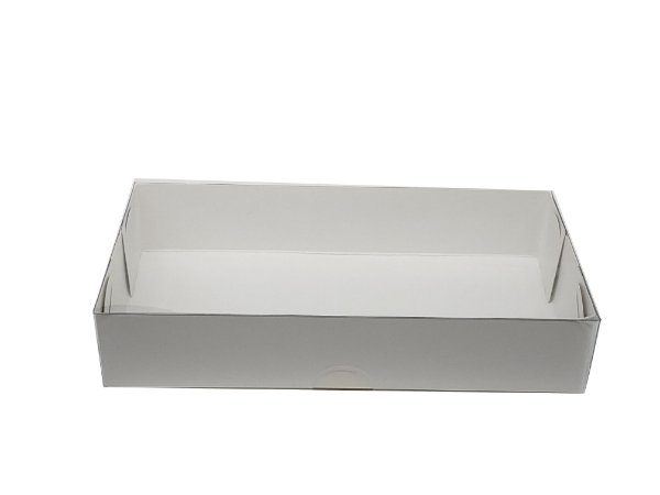 Embalagem Branca - 15,5x8x3 - pacote c/20 unidades