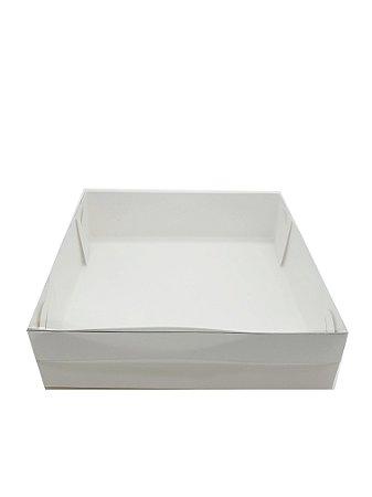 Embalagem branca 15x15x4 - pacote c/20 unidades