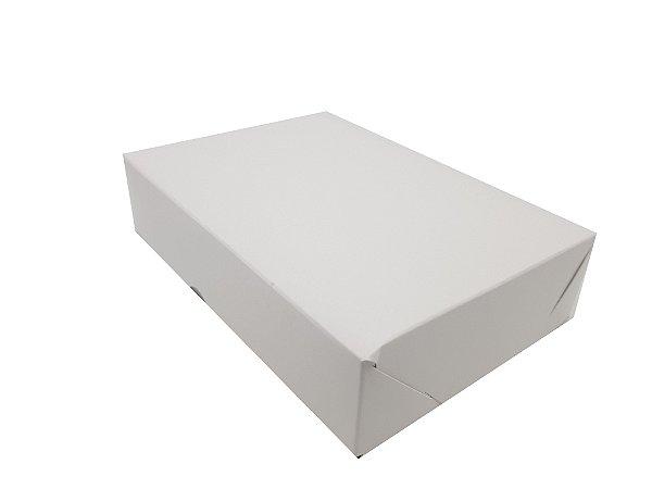 Embalagens Brancas Para 12 doces  16x11x3,5 - 10 unidades