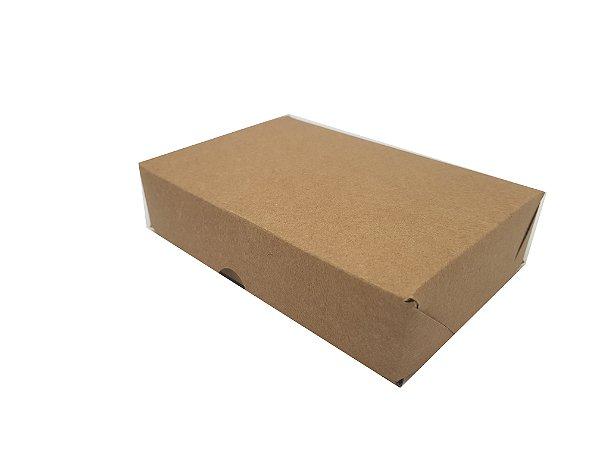 Embalagens Kraft Para 12 doces (16x11x3,5) pacote c/10 unidades