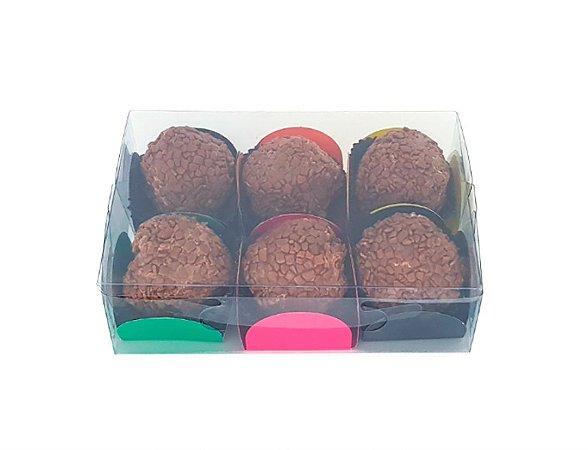Embalagem de acetato 12x8x3,5 - 10 unidades