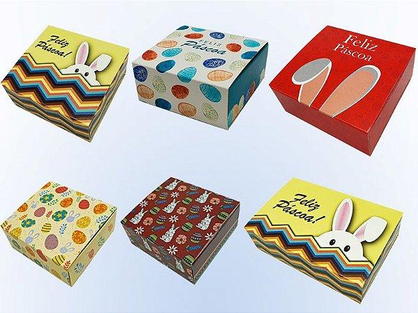 Kit Embalagens Para Brigadeiros Tema Pascoa
