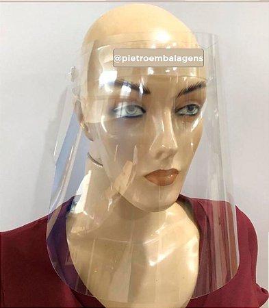 Máscara protetora facial Face Shield - 50 Micras (mm)