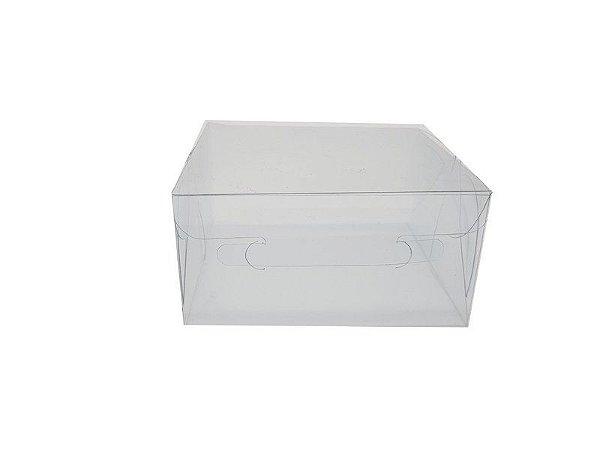 Embalagem de acetato transparente  12x11x6  - 10 Unidades