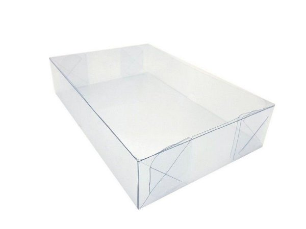 Embalagens Acetato transparente (Comp 29cm x Larg 19cm x Alt 5cm) - 10 Unidades