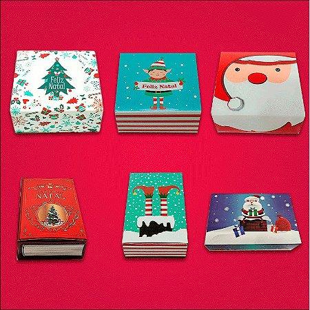 Kit embalagens para brigadeiros tema Natal