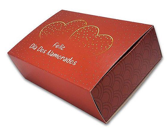 10 Embalagens p/ 6 brigadeiros - Dia dos Namorados