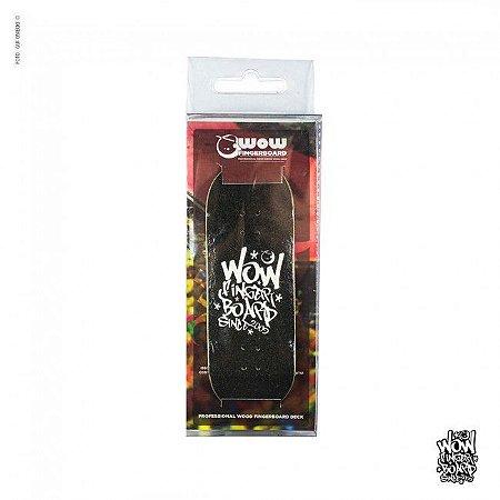Wow Deck Tag Black 33.5mm