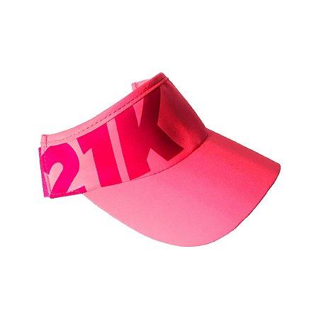 Viseira Agile 21k - rosa