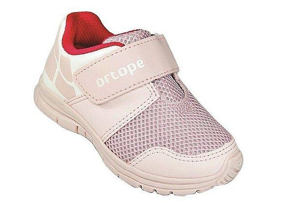 Tênis Infantil Ortopé Dna Flex 292047 - Baby Pink