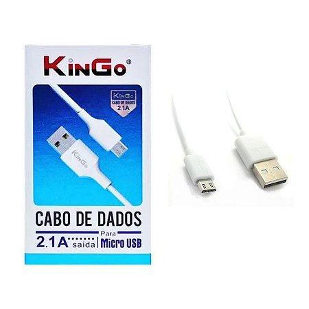 Cabo USB / Micro Usb (V8) 2 metros Kingo