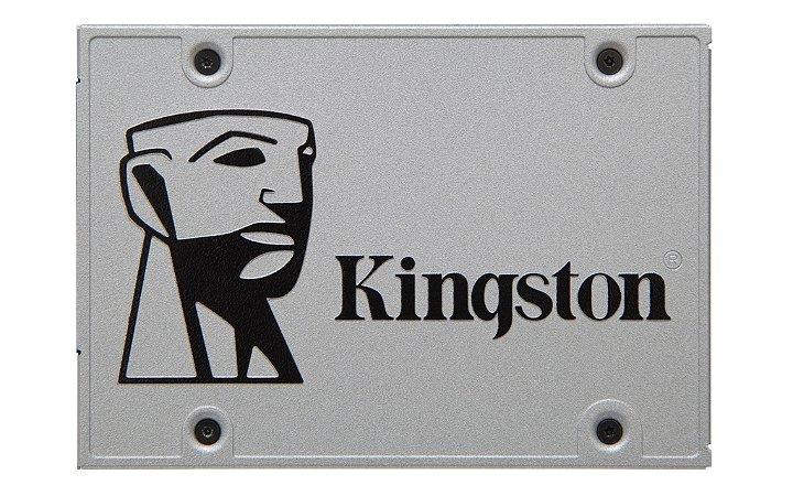SSD 480GB SATA III - Kingston SSDNow UV400 C/ Kit Desktop