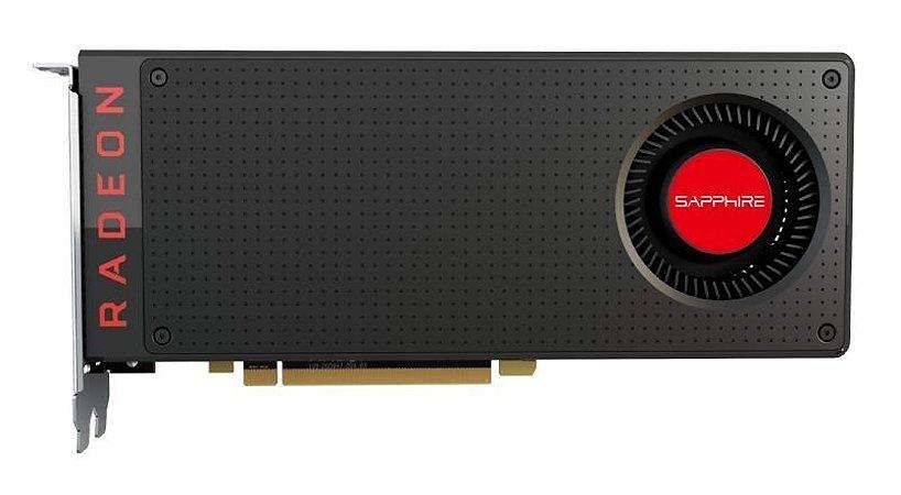 Placa de Vídeo AMD RADEON RX 480 8GB GDDR5 Sapphire
