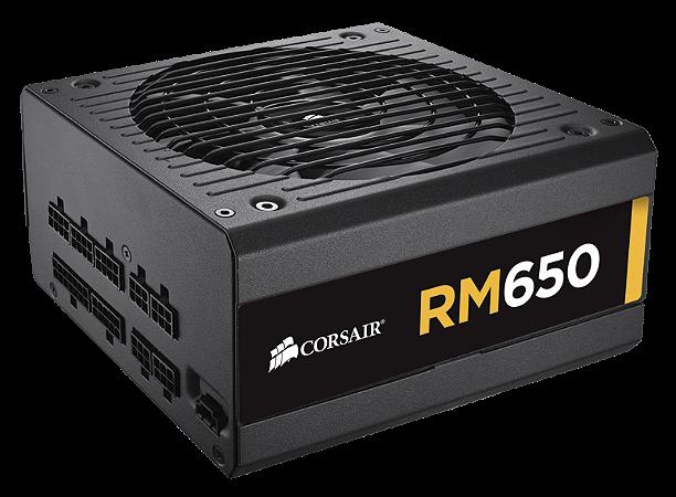 Fonte 650W Corsair RM Series Modular 80+ Gold