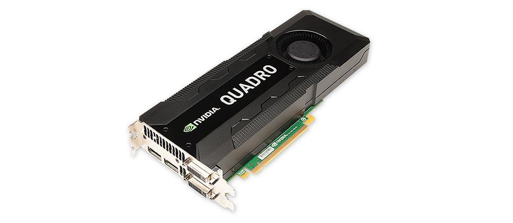 Placa de Vídeo nVidia Quadro K5000 4GB GDDR5 PNY
